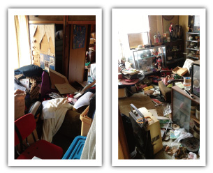 ゴミ屋敷の整理例